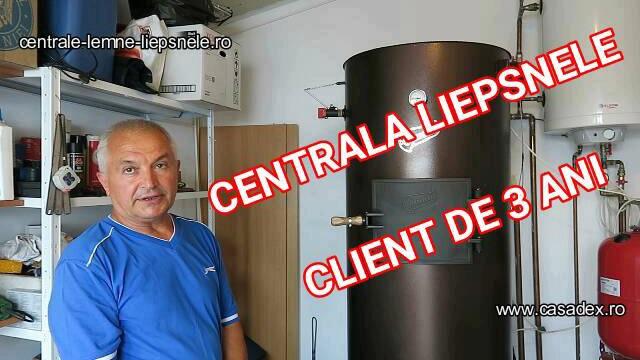 centrala liepsnele lemne client 3 ani