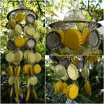 Feng Shui: creeaza clopotei de vant norocosi din capace metalice