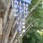 clopotei de vant norocosi din capace metalice de la sticlele de bere