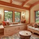 colt de relaxare bancuta la fereastra din living