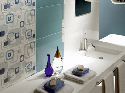 combinatii moderne faianta pentru baie