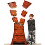 comoda cu sertare care explodeaza designer judson beaumont