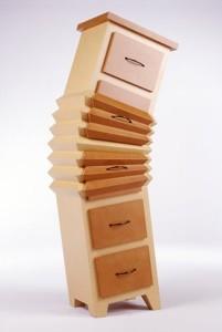 comoda cu sertare inclinata design neobisnuit judson beaumont