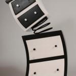 comoda unduitoare cu sertare si spirala designer judson beaumont