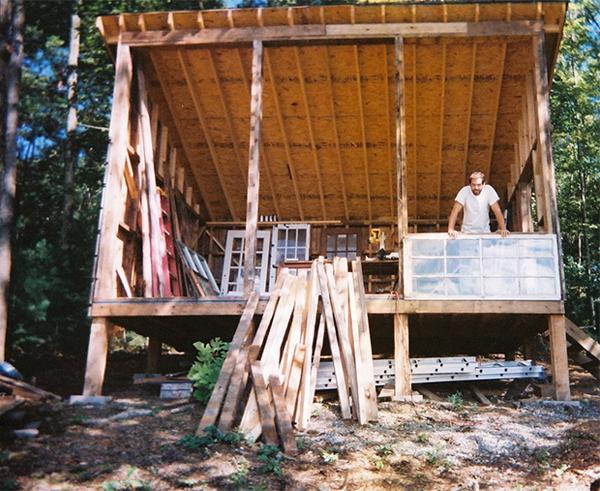 Constructie Cabana Lemn De 500 Usd Cu Fatada Din Sticla Casadex Ro
