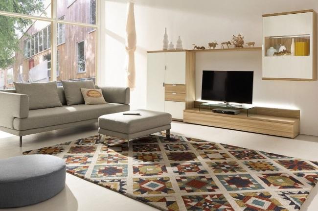 covor imprimeu etnic decor living modern stil eco