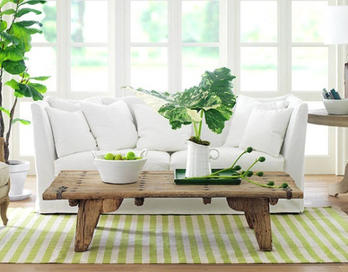 covor verde living