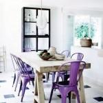 culoarea anului 2014 roz purpuriu scaune bucatarie