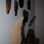 decor african perete hol