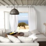 decor alb imaculat interior living casa grecia