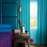 decor albastru topaz si violet amentist dormitor eclectic