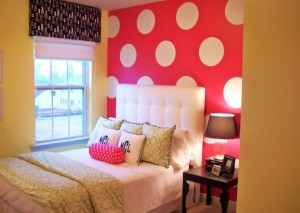 decor buline mari albe dormitor adolescenta