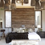 decor dormitor amenajat rustic modern