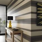 decor imprimeu dungi orizontale tapet decorativ hol ingust