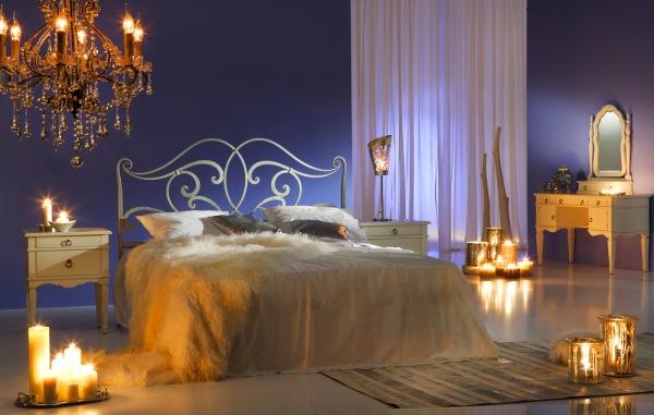 decor lumanari dormitor romantic