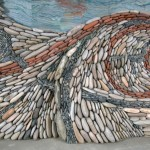 decor miscator perete din piatra naturala