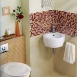 decor modern mozaic baie mica apartament