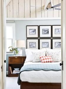 decor poze perete deasupra patului dormitor