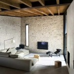 decor rustic living amenajat in stil modern