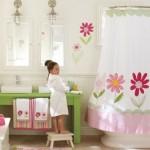 decorare baie fetite