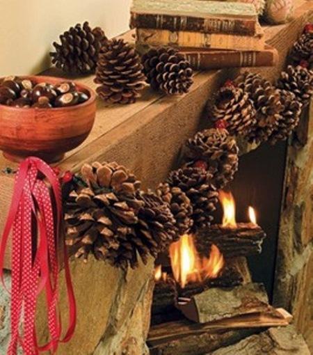 decorare conuri brad