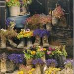 decorare gradina flori