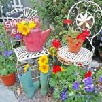 decoratiuni florale gradina