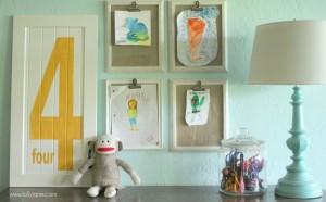 desene pe pereti camera copil