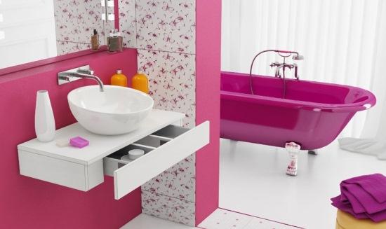 design baie roz
