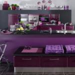 design bucatarie burgundy