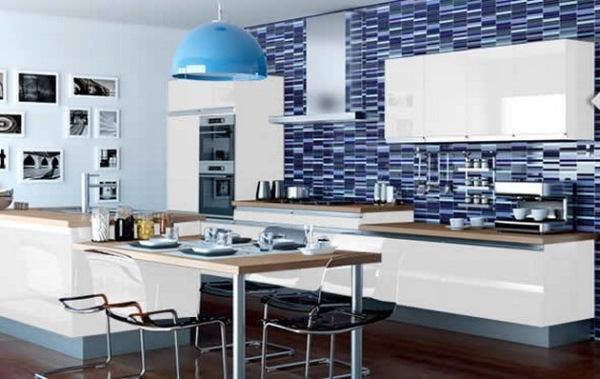 20 De Bucatarii Decorate In Albastru Imagini Casadex Case