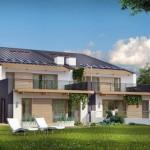 design duplex mare modern si spatios pentru doua familii parter si etaj