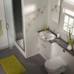 design interior baie moderna mica