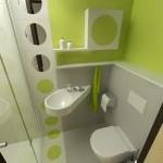 design modern minimalist baie mica