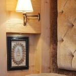 detaliu decor apartament stil rustic