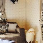 detaliu living rustic apartament