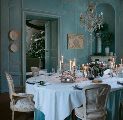 dining stil clasic francez manoir