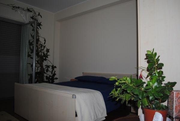 dormitor alb apartament sicilia
