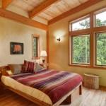 dormitor casa lemn 75 metri patrati
