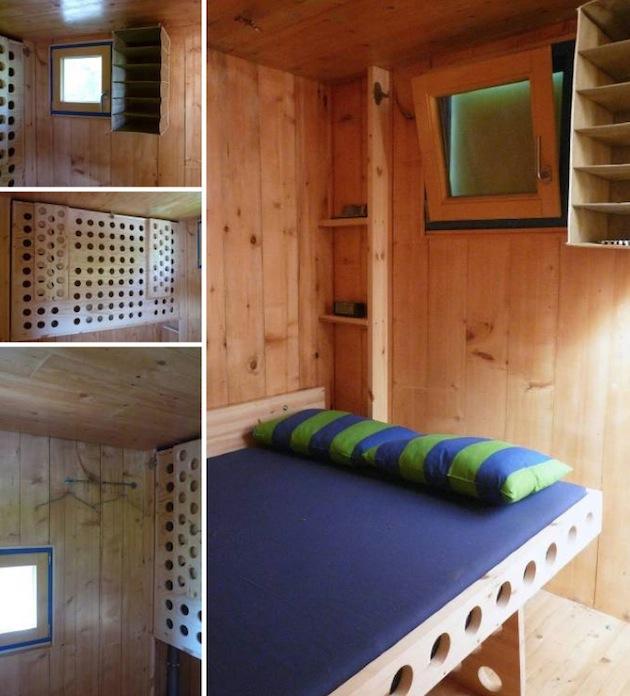 dormitor casa modulara mica