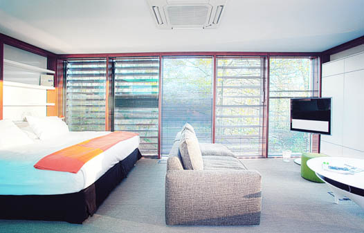 dormitor casa modulara