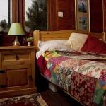 dormitor casuta de vacanta in vagon tren vintage
