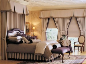 dormitor culoare ciocolata