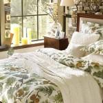 dormitor decorat flori