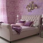 dormitor decorat mov