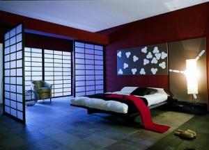 dormitor decorat stil oriental