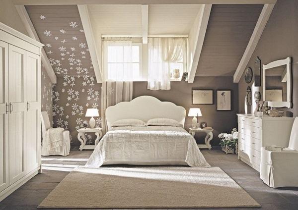 dormitor mansardat