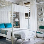 dormitor matrimonial pat cu baldachin
