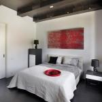 dormitor modern accente industriale apartament loft