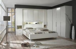 dormitor modern alb